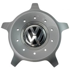 98-10 VW Beetle (w/17x7in 10 Spoke Seattle Aluminum Wheel) ~VW~ Logoed Center Cap (VW)