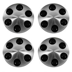 07-12 Avalanche, Express, Silverado, Suburban, Tahoew/ 17 In Alum Wheels  AL Cnt Cap Set Of 4