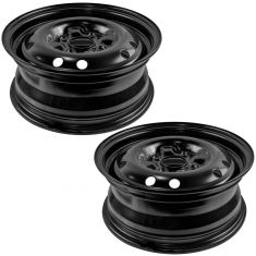 93-01 Nissan Altima; 03-06 Sentra (15 x 6 inch) Steel Wheel Pair