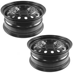 06-12 Ford Fusion; 06-11 Mercury Milan (16 x 6 1/2 inch) Steel Wheel Pair