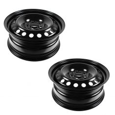 12-13 Ford Focus; 13 Fusion (16 x 6 1/2 Inch) 20 Hole Steel Wheel Pair