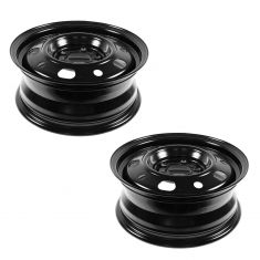 07-12 Chrysler Caliber (15 x 6 1/2 inch) Steel Wheel Pair