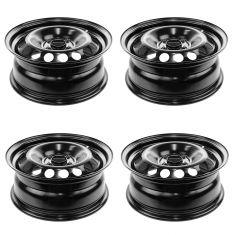 05-10 Chevy Cobalt; 05-10 Pontiac G5; 05-06 Pursuit (15 x 6 inch) Steel Wheel Set of 4
