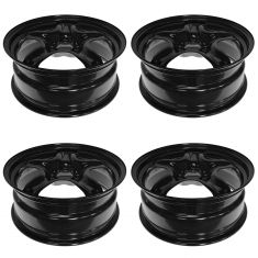 07-10 Saturn Aura, Pontiac G6; 07-09 Aura Hybrid; 08-12 Chevy Malibu (17 x 7 in) Steel Wheel SET 4pc