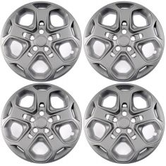 10-12 Ford Fusion w/17 Inch Wheel - 5 Spoke Type Painted Wheel Cover (Set of 4)