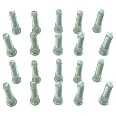 07-09 Chrysler; 94-10 Dodge; 06-09 Mitsu; 10-12 Ram (9/16-18 x 2-5/16 in) Serrated Whl Stud (SET 20)