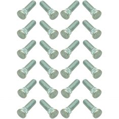 85-10 GM; 73-17 Toyota, Lexus Multifit (M12-1.50 x 40mm) Serrated Wheel Stud Kit (SET of 24)