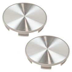 95-12 Honda Multifit (w/17, 18, 19 Inch Alum Whl) Brushed Alum Center Cap (Dorman) Pair