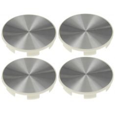 95-12 Honda Multifit (w/17, 18, 19 Inch Alum Whl) Brushed Alum Center Cap (Dorman) Set
