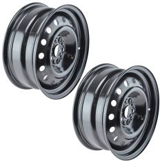 11-15 Chevy Cruze; 16 Cruise Limited (4th Vin Digit P) (16 x 6 1/2 In) Steel Wheel Pair