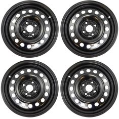 07-12 Toyota Yaris; 13 Yaris (US Built) (15 x 5-1/2 Inch) Steel Wheel Set of 4 Dorman)