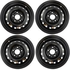 08-13 Grand Caravan, Town & Country (16 x 6-1/2 Inch) Steel Wheel Set of 4 (Dorman)