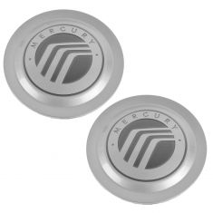 04-06 Mercury Grand Marquis ~Mercury~ Logoed Wheel Center Cap Pair (Ford)