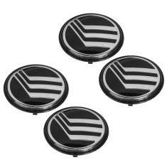 92-06 Mercury Grand Marquis Logoed Hub Cap Center Emblem Set of 4 (Ford)