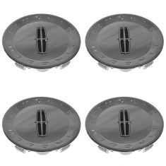 07-10 Lincoln MKX; 09-11 Town Car (w/18 or 20 In Alum Whl) Chrome Center Cap Set of 4 (Ford)