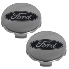 2015 Ford F150, Expedition, Taurus; 13-15 Explorer (w/20 In Whl) Chrome Center Cap Pair (Ford)