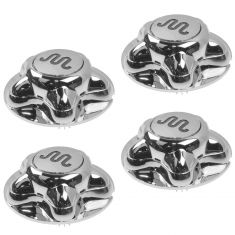 01-04 Ford F150 King Ranch Heritage ~King Ranch~ Logoed Chrome Center Cap Set of 4 (Ford)