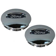 08-14 Ford F150; 07-15 Expedition (w/20 x 8.5 In Wheel) Chrome ~Ford~ Center Cap (Set of 4) (Ford)