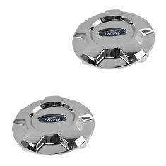 09-14 Ford F150 (w/17 in, 5 Spoke Alum Wheel) ~Ford~ Logoed Center Cap PAIR (Ford)