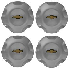 07-14 Avalanche, Sub, Tahoe (5 Spoke Polished Wheel - RPO N87) Chrome Center Cap (Set of 4) (GM)