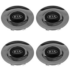 01-06 Kia Optima, Magentis (w/15 Inch Alum Whl) Chrome/Black