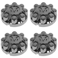 03-13 Ram 2500 3500 (w/17 Inch Wheel) Rams Head Chrome Center Cap Set of 4 (Mopar)