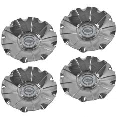 07-10 Chrysler 300 (w/18 x 7 1/2, 9 Spk Chrm Wheel) Chrysler Loged Center Cap Set of 4(Mp)