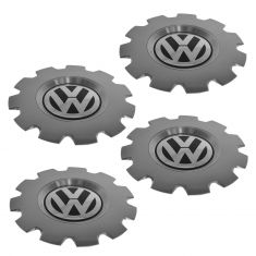 02-10 VW Beetle (w/11 Spoke 16 Inch Key West Alloy Wheel) Center Cap SET of 4 (Volkswagen)