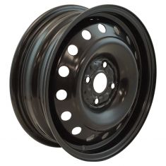 12-17 Toyota Prius C, Yaris Hatchback (15 x 5 in - 4 Bolt - 100mm Bolt Circle) Steel Wheel (Dorman)