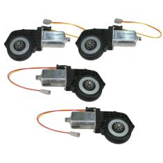 1973-94 Ford Lincoln Mercury Power Window Motors 4 Piece Set