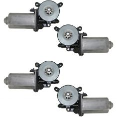 94-04 Bravada Blazer Jimmy Window Motor Set 4pc