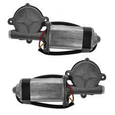 Power Window Motor for 1/4 Glass for Convertible Models PAIR
