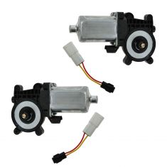 98-05 MB ML Class; 98-07 Cadillac; 97-05 Chevy Multifit Rear Door Power Window Motor PAIR