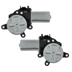 02-06 Altima; 05-09 Frontier; 03-07 Murano; 00-05 Sentra; 00-09 Xterra Pwr Wnd Mtr PAIR