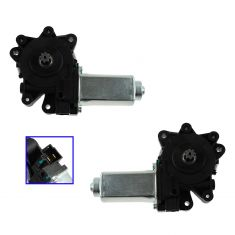 04-07 Dodge Caravan, Grand Caravan, Chrysler Town & Country Front Door Power Window Motor PAIR