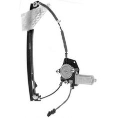 1999-00 Grand Cherokee Power Window Regulator w/Motor Rear Passengers Side