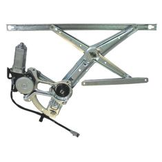 1990-93 Honda Accord Window Regulator Power With Motor LH for 2dr Coupe