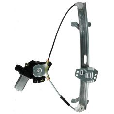 03-07 Honda Accord 4dr Power Window Regulator With Motor Front RH