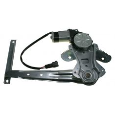 2000-06 Nissan Sentra Power Window Regulator with Motor RR