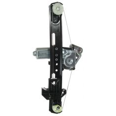 00-06 Lincoln LS Power Window Regulator w/Motor RR