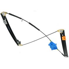 02-08 Audi A4 S4 Power Window Regulator w/o Motor RF