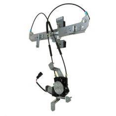 02-06 Escalade, Tahoe,  Yukon Rear Door Power Window Regulator w/Motor LR