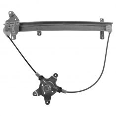 98-04 Nissan Frontier; 00-04 Xterra Front Door Manual Window Regulator LF