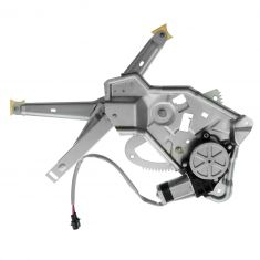 89-95 BMW 525i; 94-95 530i, 540i; 89-93 535i; 91-94 M5 Rear Door Power Window Regulator w/Motor LR