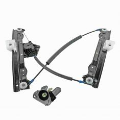 08-10 Dodge Avenger Front Door Power Window Regulator w/2 Pin Motor LF