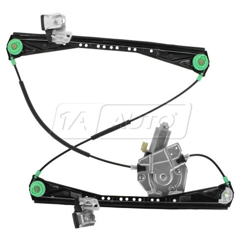 2000 02 jaguar s type lincoln ls window regulator driver