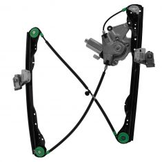 01-07 Ford Focus 4dr Pwr Window Regulator w/Mtr LF (HQ)