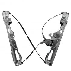 09-14 Ford F150 Crew Cab Rear Door Power Window Regulator w/Motor LR