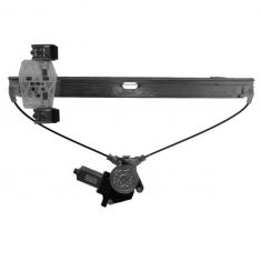 04-13 Ford F150 Super Cab Rear Door Power Window Regulator w/Motor LR