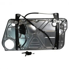 98-02 VW Beetle; 03-10 Beetle (exc Conv) Power Window Regulator Module (w/Panel) w/o Motor LH HQ